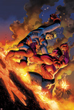 Hulk No.49 Cover: Red Hulk and Icarus Prints by John Romita Jr.