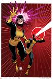 X-Men #5 Cover: Grey, Jean, Cyclops Reprodukcje autor Arthur Adams