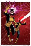 X-Men 5 Cover: Grey, Jean, Cyclops Posters por Arthur Adams