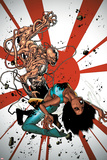 Generation Hope No.3 Cover: Kenji Uedo and Idie Okonkwo Prints by Olivier Coipel