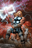Ultimate Thor No.1 Cover: Thor Posing Posters by Carlos Pacheco