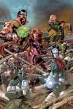 The Thanos Imperative: Devestation No.1: Medusa, Gorgon and Karnak Prints by Miguel Angel Sepulveda