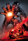 X-Men: Schism No.4: Sentinel, Cyclops, and Wolverine Fighting Posters par Alan Davis