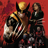 Fear Itself: Wolverine No.1 Cover: Wolverine Posing Poster by Daniel Acuna