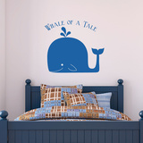Whale Of A Tale Wall Decal