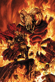Thor No.613 Cover: Thor Fighting in Flames Photo by Mico Suayan