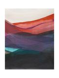 Red Hills II Print by Jodi Fuchs