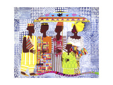 We are African People Prints by Varnette Honeywood
