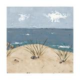 Beach Scene Triptych III Print by Jade Reynolds