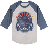 Journey- Alien Head (Raglan) T-Shirts