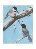 Chickadee Christmas IV 2-Up Prints by Grace Popp