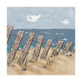 Beach Scene Triptych II Prints by Jade Reynolds