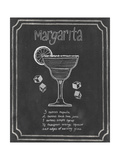 Chalkboard Cocktails IV Premium Giclee Print by Grace Popp