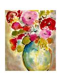 Pastel Vase II Poster by Julia Minasian