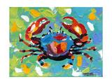 Seaside Crab I Prints by Carolee Vitaletti