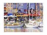 Honfleur Harbor Prints by Edie Fagan