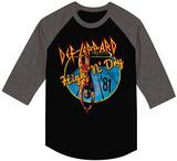 Def Leppard- High'n'Dry (Raglan) T-Shirt
