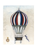Vintage Hot Air Balloons VI Prints by Naomi McCavitt