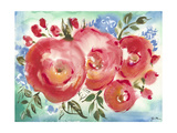 Bed of Roses I Prints by Julia Minasian