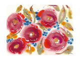 Bed of Roses III Prints by Julia Minasian