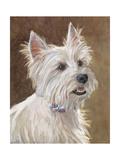 Mac West Highland Terrier Posters by Edie Fagan