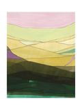 Pink Hills II Premium Giclee Print by Jodi Fuchs
