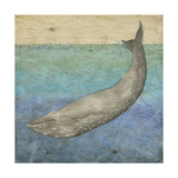 Diving Whale I Prints by Megan Meagher