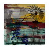 Windmill Abstract Plakater av Sisa Jasper