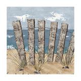 Beach Scene Triptych I Poster by Jade Reynolds