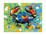 Seaside Crab II Premium Giclee Print by Carolee Vitaletti