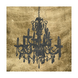 Gilt Chandelier VII Posters by Jennifer Goldberger