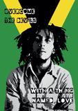 Bob Marley Collage Reprodukcje