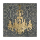 Gilt Chandelier II Prints by Jennifer Goldberger