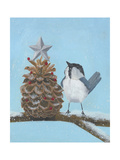 Chickadee Christmas II 2-Up Art by Grace Popp