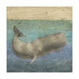 Diving Whale II Plakater af Megan Meagher