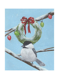 Chickadee Christmas III 2-Up Posters by Grace Popp