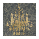 Gilt Chandelier I Posters by Jennifer Goldberger