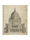 Cathédrale Saint-Paul, Londres Reproduction giclée Premium