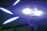 Avengers Assemble Animation Still Featuring Black Widow Photo