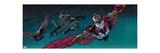 Avengers Assemble Artwork Featuring Falcon Print