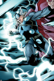 Avengers Assemble Panel Featuring Thor Print