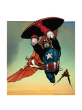 Avengers Assemble Artwork Featuring Falcon - Captain America Prints