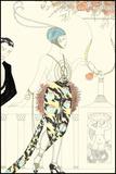 Arte Deco Fashion II Print