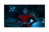 Avengers Assemble Animation Still Print