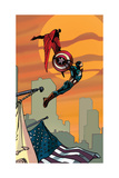 Avengers Assemble Artwork Featuring Falcon - Captain America Posters