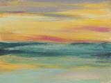 Sunset Study III Plakat af Jennifer Goldberger