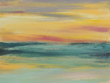 Sunset Study III Print by Jennifer Goldberger