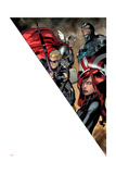 Avengers Assemble Artwork Featuring Hawkeye, Thor, Captain America, Black Widow Prints