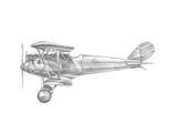 Technical Flight III Prints by Ethan Harper