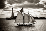 The Clipper and the Liberty Prints by John Brooknam